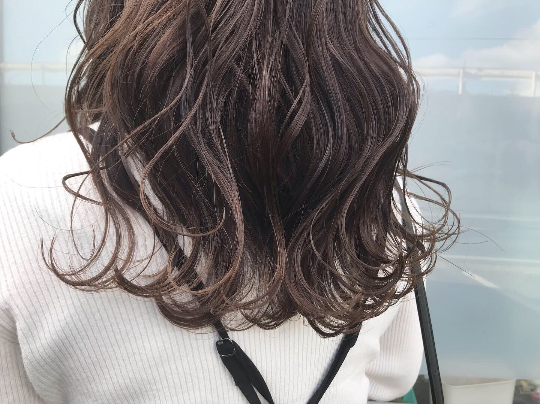 カット+透明感カラー+素髪ケア