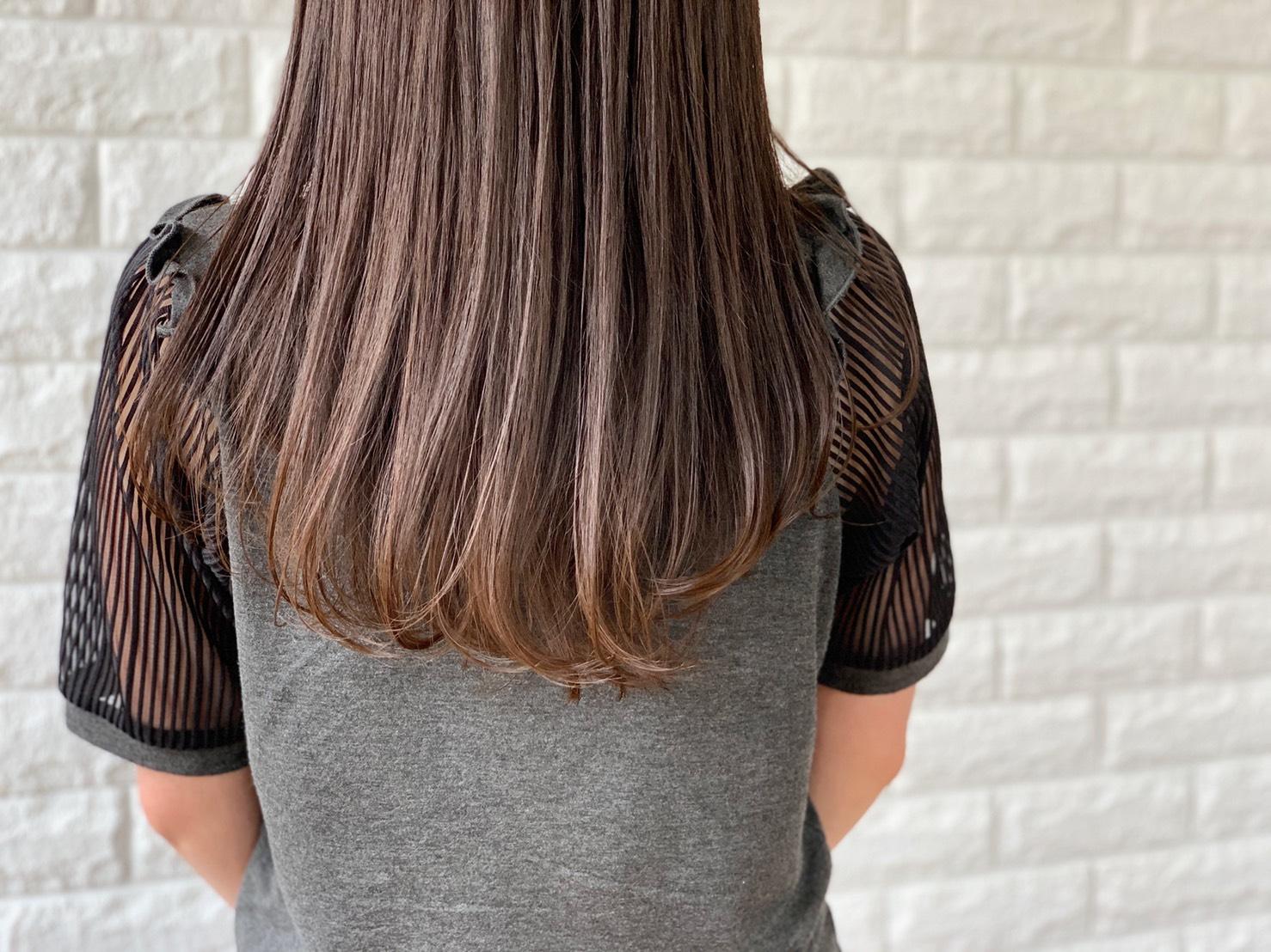 カット+透明感カラー+素髪エステ