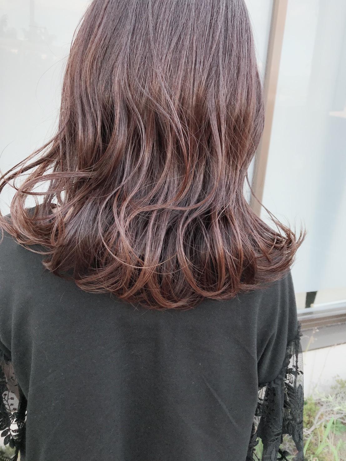 カット+ダブルシェードカラー+素髪ケア