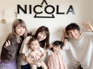 NICOLAに来るといつも笑顔になれる!